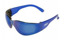 Global Vision Rider Plus Blue Mirror Lens - Safety, Motorcycle Riding - ANSI Z87