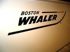 "BOSTON WHALER OEM DRIP MOLD 20"" HULL LOGO SET - DARK NAVY - TAX FREE!"
