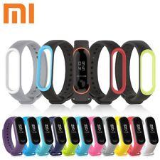 For Xiaomi Mi Band 3 Adjustable Bangle Soft Silicone Strap Wristband Bracelet