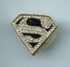 Superman Emblem Ring