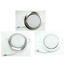 5 x flach 5W LED Decken-Einbaustrahler Einbauleuchten downlight Set GX53 230V