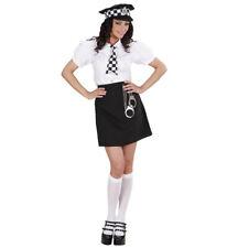 WIM 77391 Polizei Police Cop englische Polzistin Uniform  Fasching Damen Kostüm