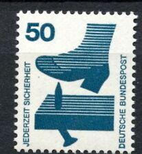 Germania occidentale 1971-4 SG # 1602 50Pf prevenzione MNH #A 31008