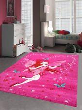 Kinderteppich Spielteppich Kinderzimmer Teppich Zauberfee mit Schmetterlinge Pin