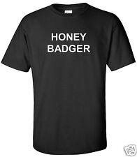 Honey Badger T-Shirt Motivational Hard Work Workout Funny Shirt