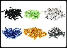6 x Aluminium Schrauben M5x16 mm, Alu Schrauben, eloxiert, 6 Farben