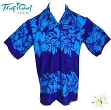 The Classic Mens Hawaiian Shirts Plus Size Blue Bucks Party