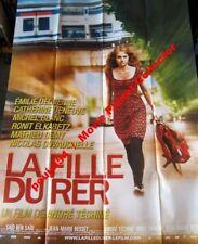 LA FILLE DU RER - Dequenne  Deneuve 47x63 FRENCH POSTER