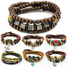 TIBET WICKELARMBAND SERIE 12A! Armband-Halskette Leather Bracelet!Surferarmband