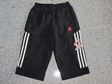 AdidasWB 3/4 Pant Hose Trainingshose Sporthose Schwarz Gr.104 110 116 128