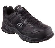 77013 Skechers Men's SOFT STRIDE-GRINNELL Work Shoes Composite Toe Black