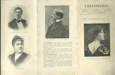 PROGRAMME COMEDIE FRANCAISE L'ILLUSTRATION LA PETITE AMIE 1902