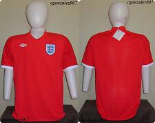Umbro England FA Inglaterra Soccer Futbol Three Lions Jersey EPL Men's