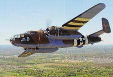 MA2 Military Aircraft WW2 B-25 Mitchell Bomber Plane Poster Print - A2 A3