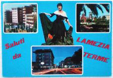 1970 Saluti LAMEZIA TERME costume calabrese PACCHIANA