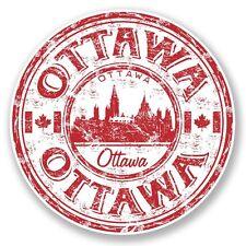 2 x Ottawa Canada Vinyl Sticker Laptop Travel Luggage Car #6794