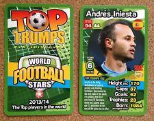 Top Trumps europeo de fútbol de estrellas tarjeta 2013-14: diversas