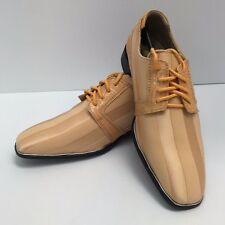 Hugo Vitelli New Boys Youth Peach Satin Dress Shoes K83PCH Round Toe 12.5 - 1.5