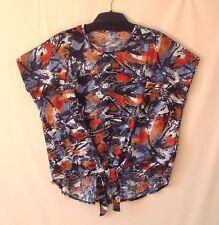 Samoon Shirt by Gerry Weber Peppiges Oversize Shirt leichte Sommerware Damen Gr.