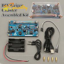 Detector de radiación nuclear Hágalo usted mismo tubo de GM Montado Kit De Contador Geiger