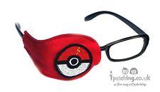 Bola De Pokemon parche ocular ortóptico ambliopía perezoso Ojo oclusión Terapia Tratamiento