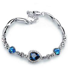 Armband Armkette Schmuck Swarovski Elements Geburtstagsgeschenk Kristall bangle