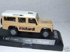 LAND ROVER Guide du Routard  1/43  Solido NEUF Boite