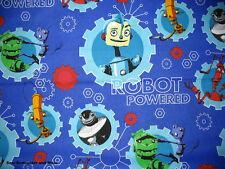 *Choose design* Transformer & Disney Robots Powered cotton quilting fabric