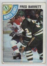 1978-79 Topps #185 Fred Barrett Minnesota North Stars Hockey Card