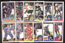1984-85 OPC O PEE CHEE NHL HOCKEY CARD 133-264 SEE LIST