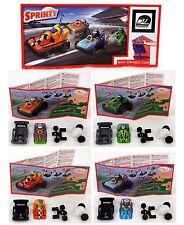 Überraschungsei Figuren Sprinty Rennwagen 2011 Auswahl UeEi Auto