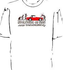 """TRIUMPH TR6 """"evolución del hombre y la máquina ruptura"""" T-Shirt"""