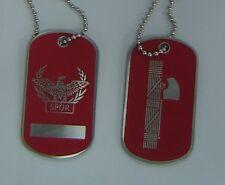 Roman Rome Italy Army War Legion Battle Eagle Fasces Dog Tag Caesar Pin Set Box
