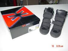 NIB NWT Womens Hi Top Hidden Wedge Heel Fashion Shoe Black Emergency Exit Trendy