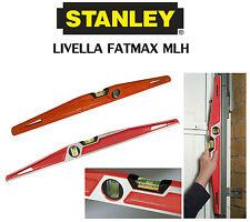 LIVELLA A BOLLA MLH FATMAX STANLEY +/- 0,5 mm/m BOLLA CENTRALE LATERALE