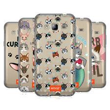 OFFICIAL EMOJI CATS SOFT GEL CASE FOR SAMSUNG PHONES 3