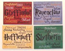 Harry Potter Traits Gryffindor Ravenclaw Slytherin Hufflepuff quality  magnet