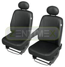 Sitzbezüge Schonbezüge SET QE VW T5 Transporter Kunstleder schwarz