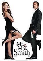 MR And Mrs Smith (DVD, 2001), Brad Pitt and Angelina Jolie