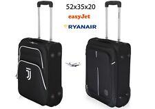 Valigia Trolley Bagaglio a Mano JUVENTUS FC  52x35x20 2 Ruote Ryanair EasyJet