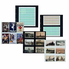 Leuchtturm Maximum-Hüllen Format 350x335mm,  5er Pack 20 versch. zur Auswahl