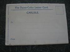 CARLISLE Vintage Souvenir Daino-Color Letter Card+ 4 Views + 1 Multi-view