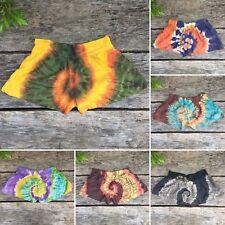 Tie dye Festival Shorts summer beach boho hippy hippie bohemian XS / S