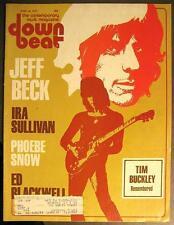 DOWN BEAT 1977 JUNE - JEFF BECK IRA SULLIVAN PHOEBE SNOW ED BLACKWELL TIM BUCKLE