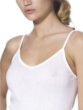 Canottiera donna spalla stretta liscia filo di scozia- Ragno art. 02819E