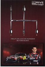 """2011 JEFF GORDON #24 """"DRIVE TO END HUNGER"""" POSTCARD! 2ND VERSION"""