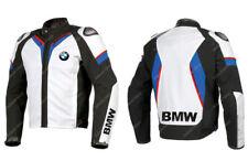 BMW Giacca in Pelle da Motociclista MOTO GP Motocicletta Pelle Giacca EU 48,56