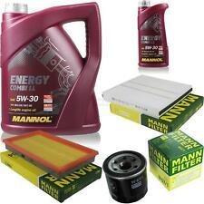 Ölwechsel Set 6L MANNOL Energy Combi LL 5W-30 + MANN Ölfilter Service 10045307