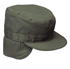 ARMY RANGER CAP OLIVE GREEN HIDDEN EARFLAP Size XLarge 7 3/4