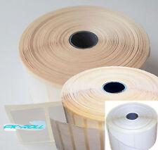 Thermique direct blanc sticky labels 50X25mm 50x12mm 57x58mm zèbre et plus